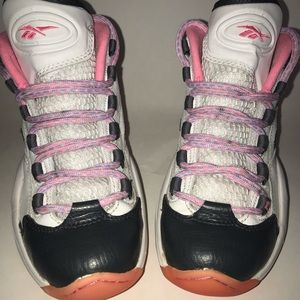 Reebok Iverson Question Mid Pink
